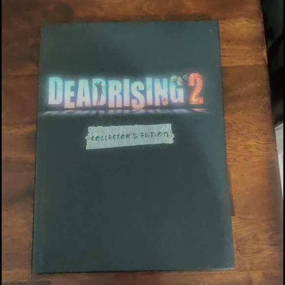 DeadRising 2 Game guide Collector Edition Hardbook